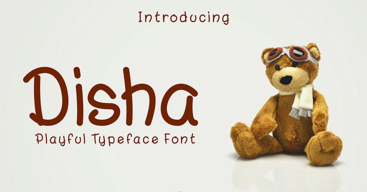 Download Disha - Playful Font RB by Rometheme
