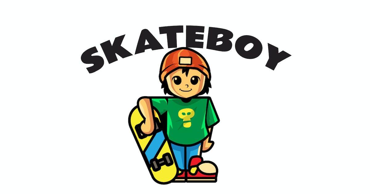 Download skateboy - Mascot Logo by aqrstudio