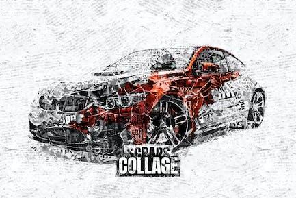 Recortes Collage Photoshop Acción