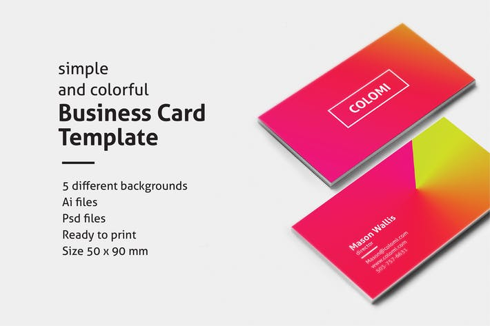 Thumbnail for Colomi - Business Cards
