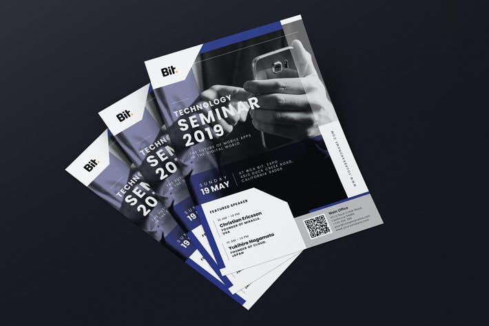 Thumbnail for Technology Seminar AI and PSD Flyer Vol.1