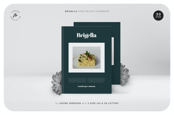 Thumbnail for Brigella Food Recipe Cookbook