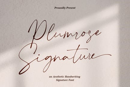 Signature de Plumrose
