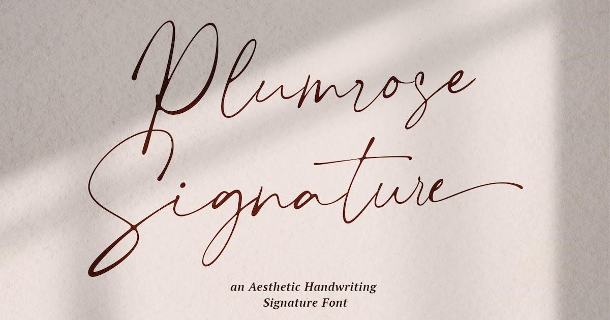 Download Plumrose Signature by TempCraft