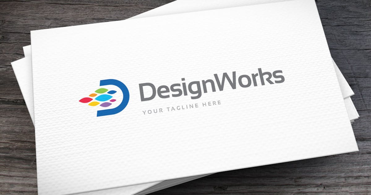 Design Works Logo Template by empativo