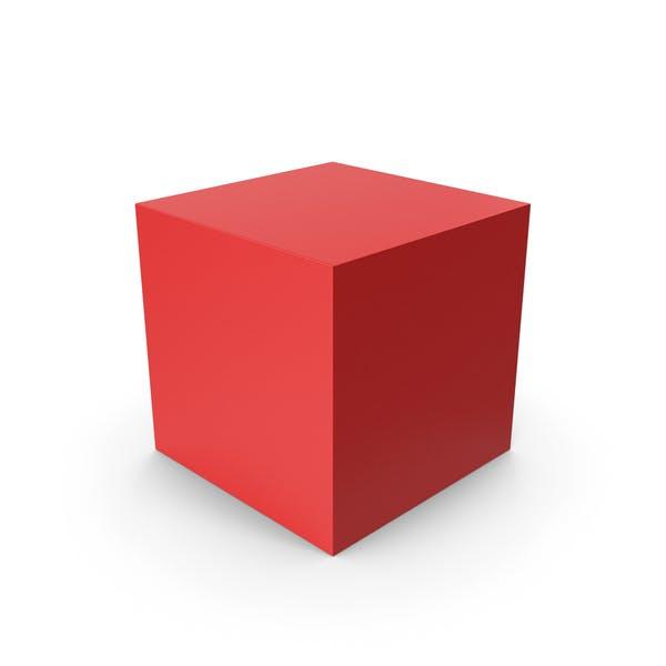Куб Красный