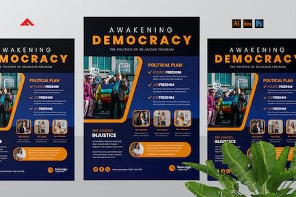 Politic Campaign Flyer