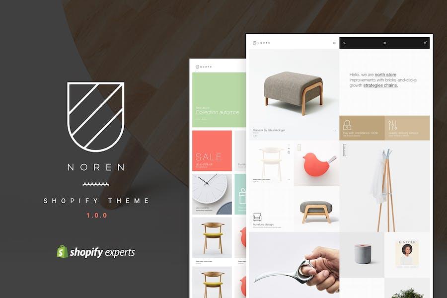 Noren | Responsivo Shopify Tema