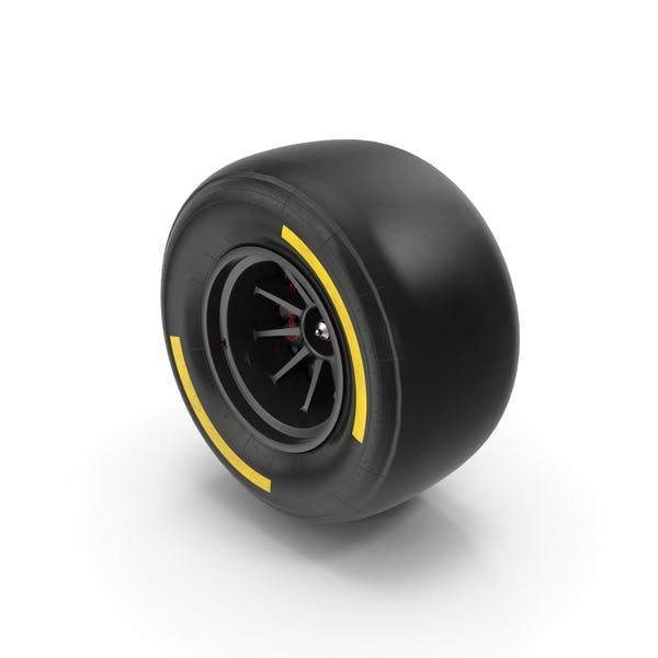 Formula One Car Style Tire