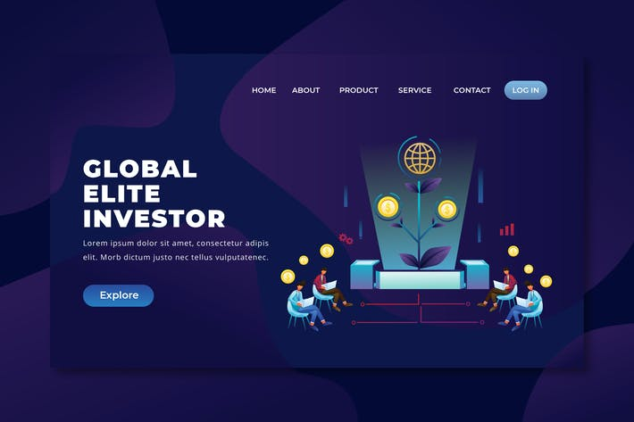 Thumbnail for Global Elite Investor - PSD and AI Landing Page
