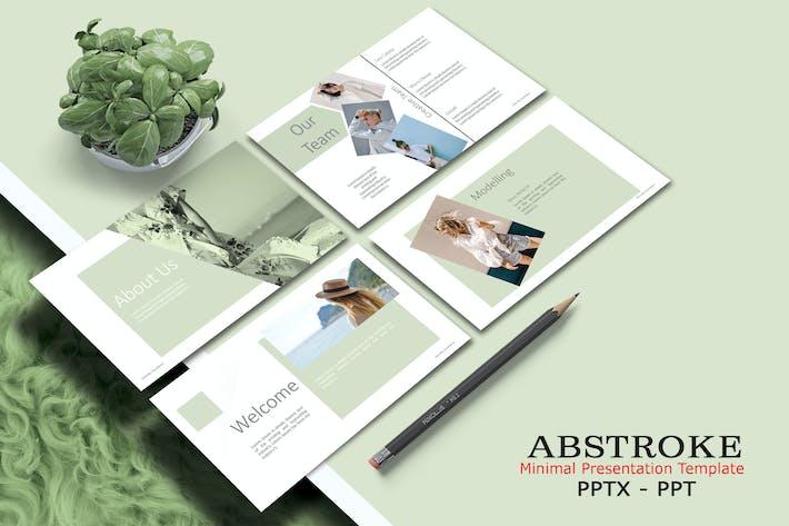 ABSTROKE - Шаблон Powerpoint