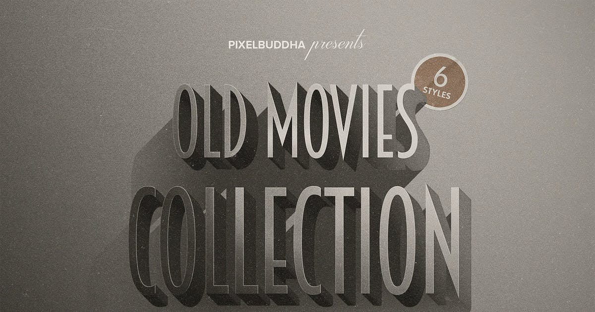 Download Old Movie Titles Collection by pixelbuddha_graphic