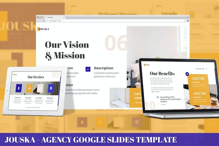 Thumbnail for Jouska - Agency Google Slides Template