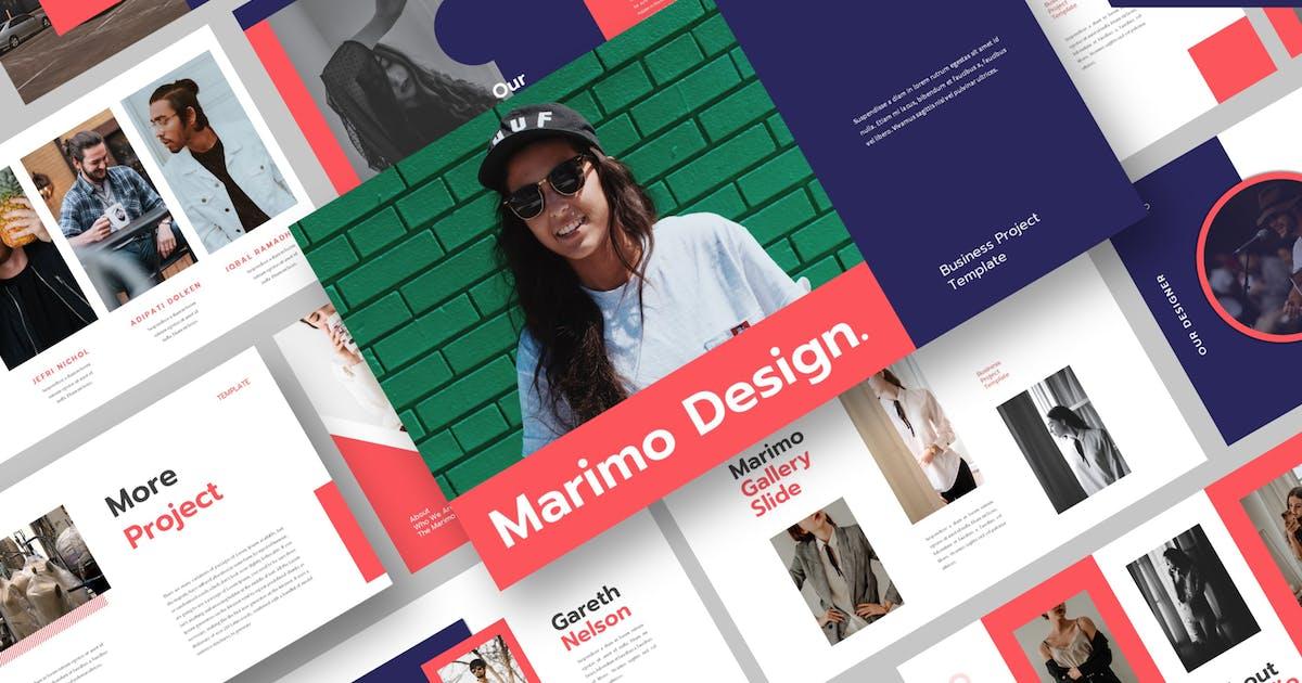 Download Marimo Keynote Template by axelartstudio