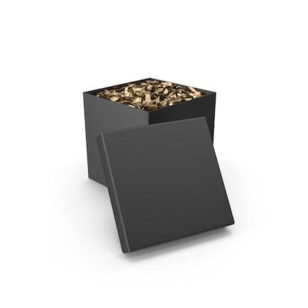 Schwarze Überraschungsbox