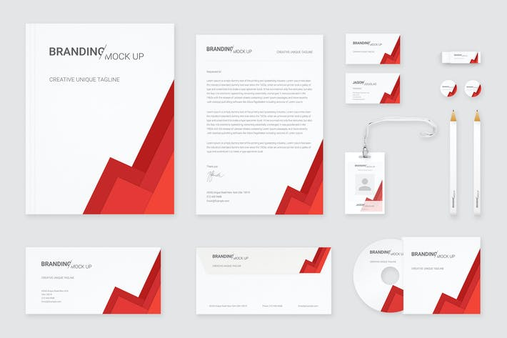 Cover Image For Branding Identity Mock Up (Vol. 3)