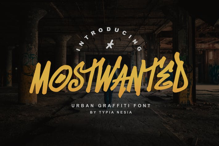Thumbnail for MostWanted Graffiti Font