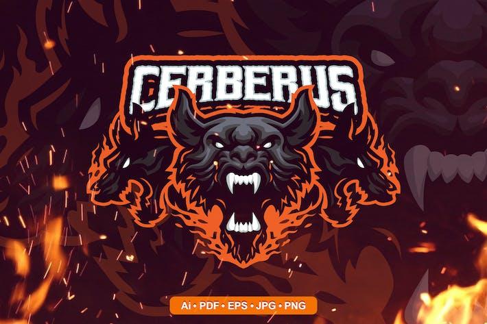 Cerberus Esports and Sports mascot Logo