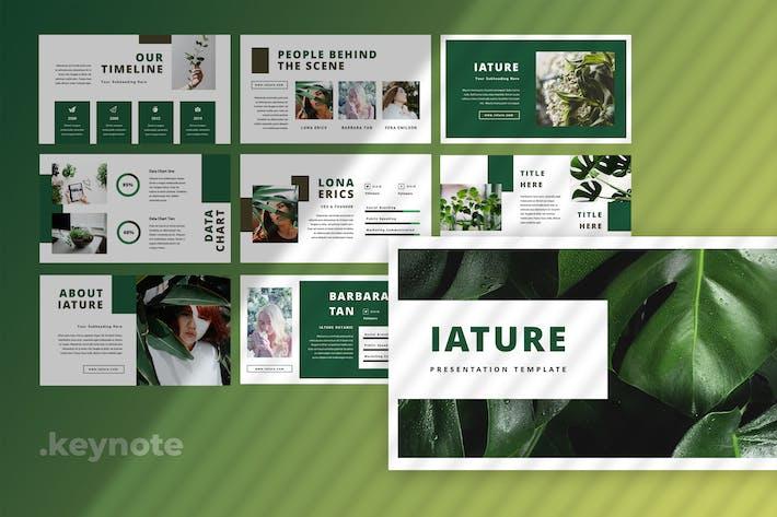 Iature - Keynote Presentation
