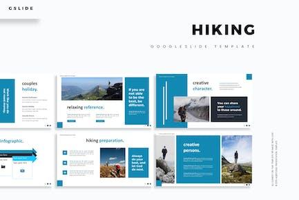 Hiking - Google Slides Template