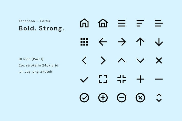 Thumbnail for UI Icon Set