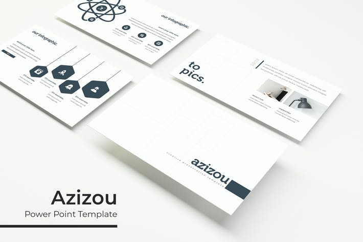 Thumbnail for Azizou - Powerpoint Template