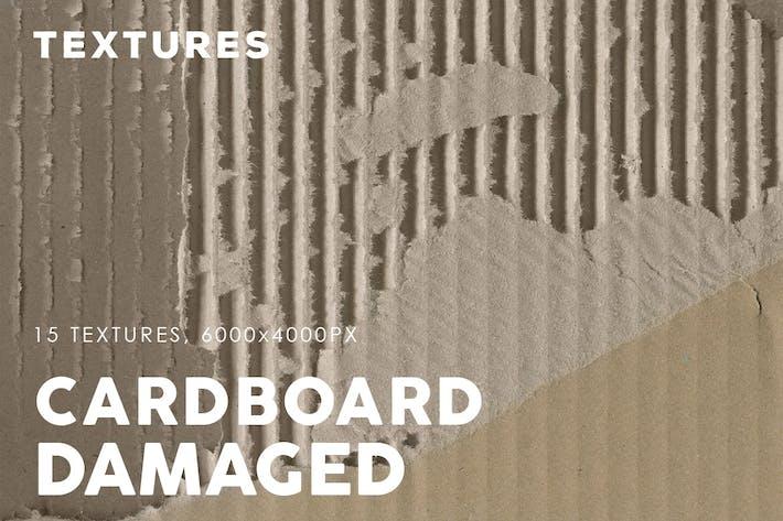 Damaged Cardboard Textures