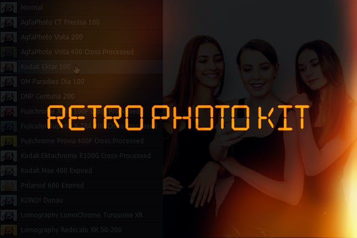 Thumbnail for Retro Photo Kit