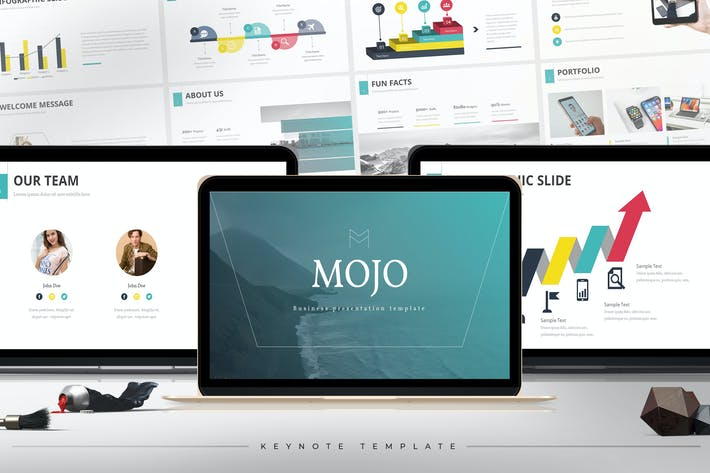 Mojo - Keynote Template