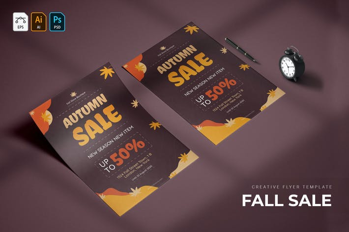 Thumbnail for Fall Sale | Flyer