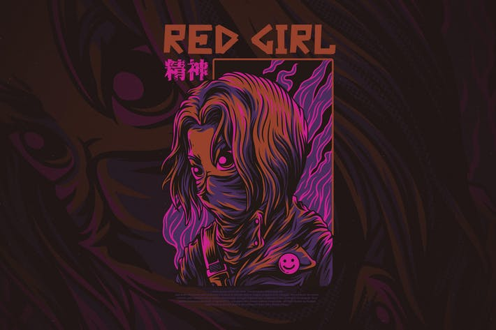 Thumbnail for Red Girl
