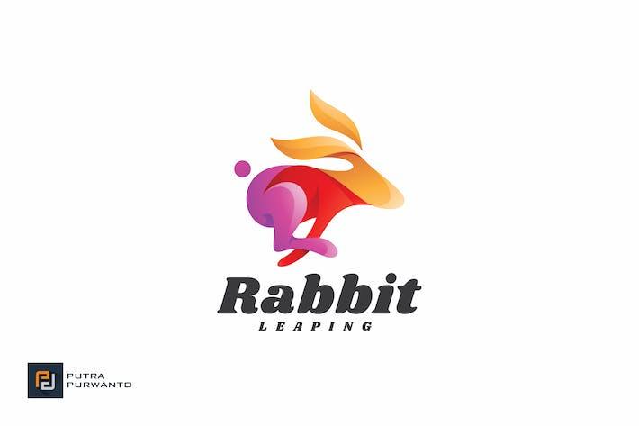 Thumbnail for Rabbit Leaping - Logo Template