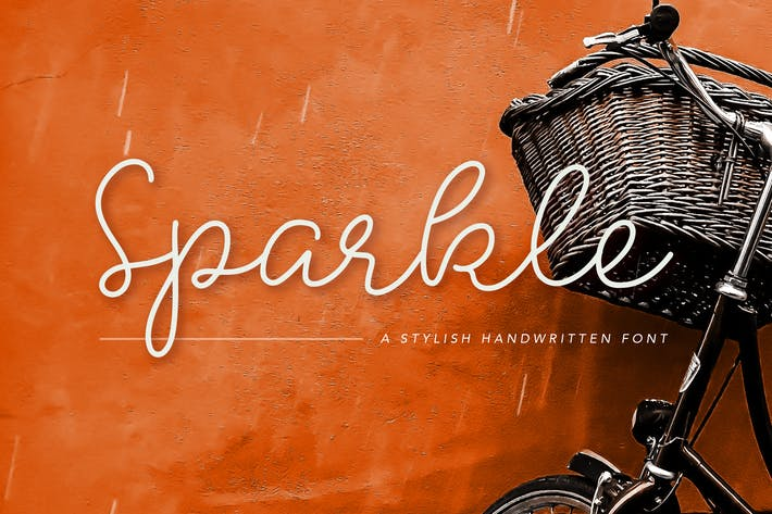 Thumbnail for Fuente Sparkle Stylish manuscrita