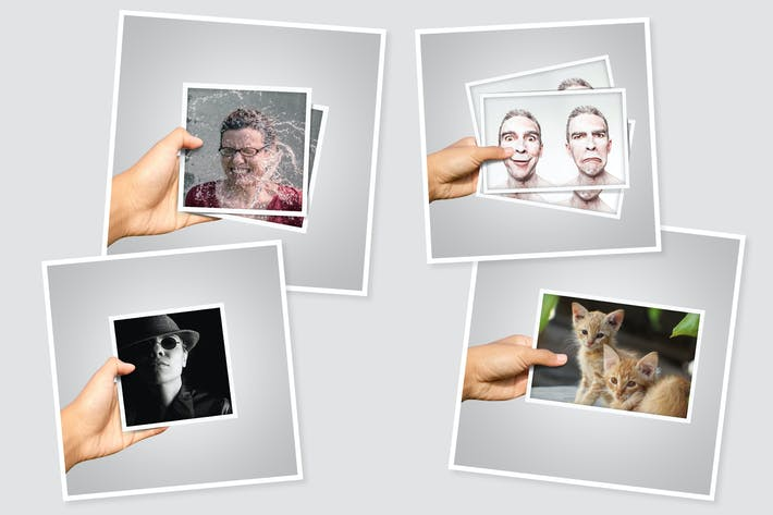 Cover Image For Hand in Frame Photo Template