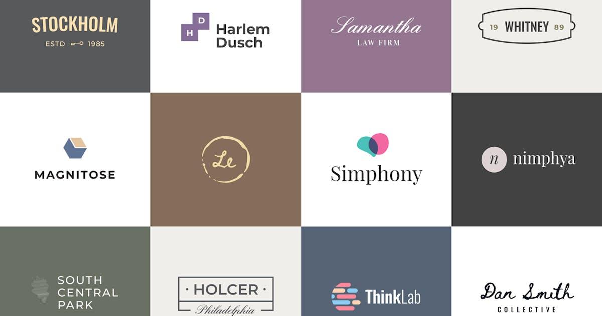 Download Minimalist Logo Templates by artimasa_studio