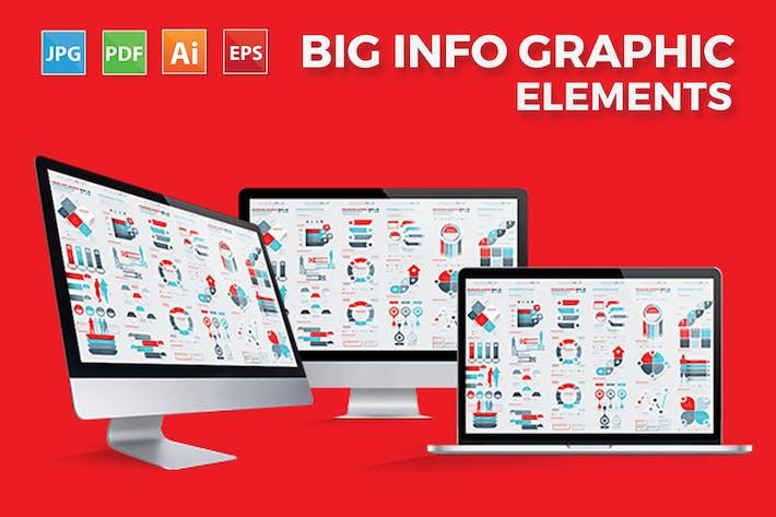 Thumbnail for Infographics Elements Design