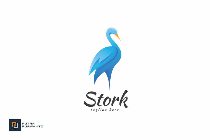 Thumbnail for Stork - Logo Template