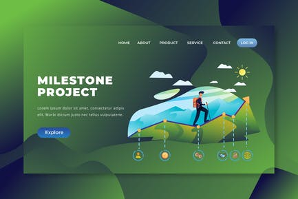 Milestone Project  - PSD and AI Landing Page