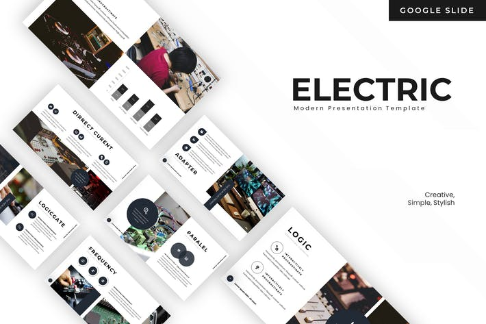 Thumbnail for The Electric - Google Slides Template