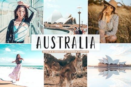 Australia Mobile & Desktop Lightroom Presets