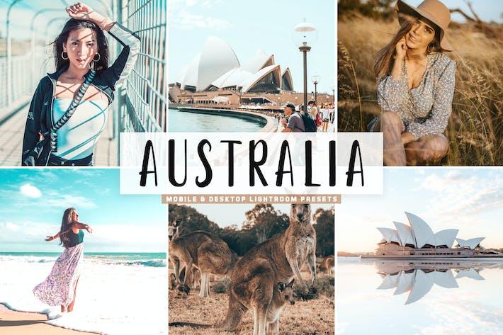 Cover Image For Australia Mobile & Desktop Lightroom Presets