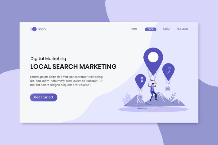 Thumbnail for Local Search Marketing Landing Page