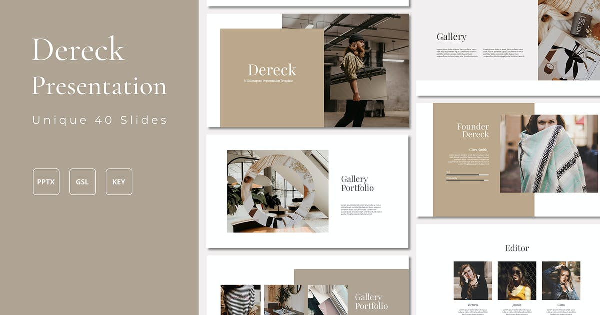 Download Dereck Bundle Presentation by axelartstudio