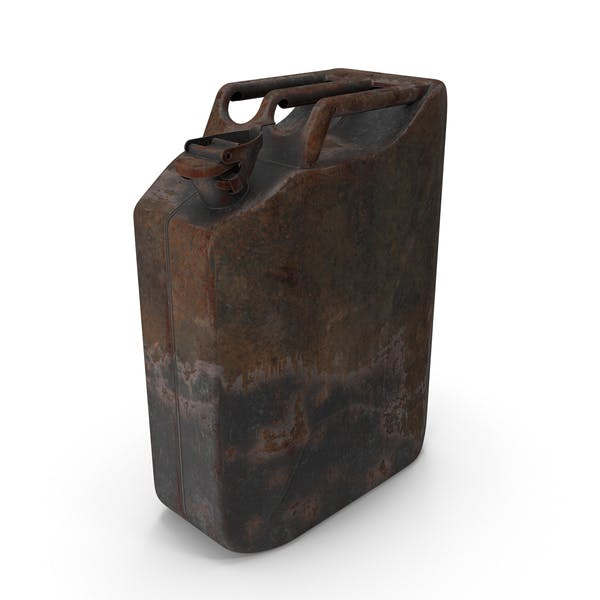 Canister Rusted Dark