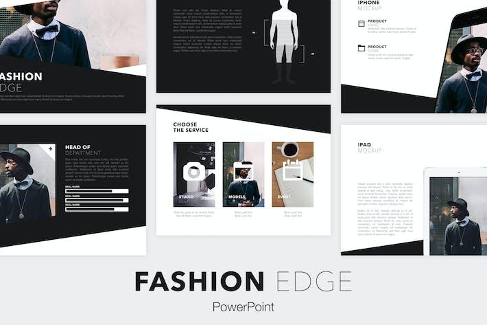 Thumbnail for Fashion Edge PowerPoint Template