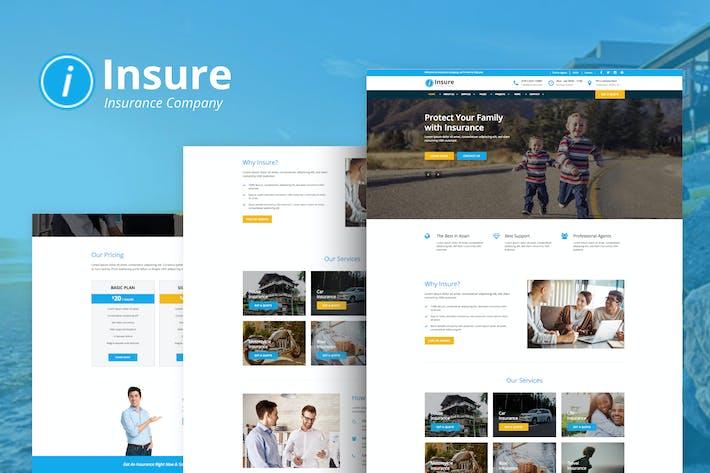 Thumbnail for Insure - Insurance & Business HTML Templ