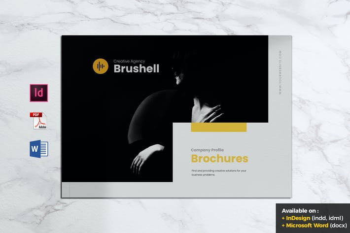 Thumbnail for BRUSHELL Company Profiles Brochure