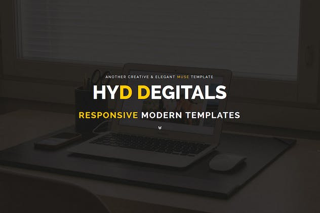 Hyd - Muse Template - product preview 0
