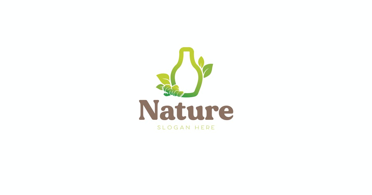Download Nature healthy Drink Logo Template by NEWFLIX