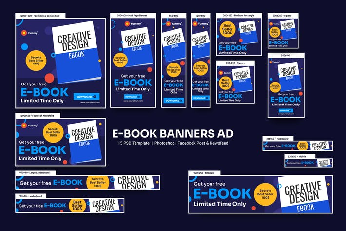 Thumbnail for e-Book Banners Ad